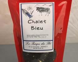 Thé noir chalet bleu