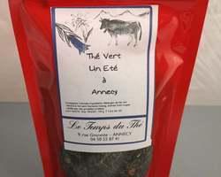 Thé vert un été à Annecy