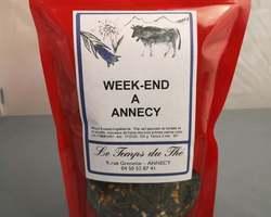 Thé vert week-end à Annecy